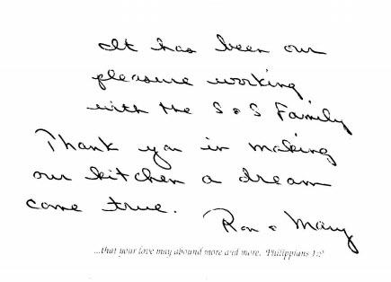 Ron & Mary testimonial s&S